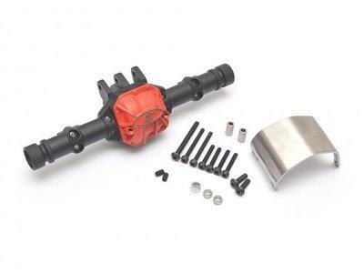 Boom Racing AR44 PHAT™ Axle Housing W/ ARMOUR™ Skid Plate 210grams Black