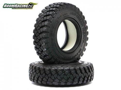 Boom Racing 1.9 Mud Terrain Trophy BR-T29A Tire Gekko Compound 3.6x0.94 Inch (93x24mm) (2)