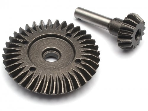 Boom Racing Heavy Duty Bevel Helical Gear Set - 36T/14T Overdrive