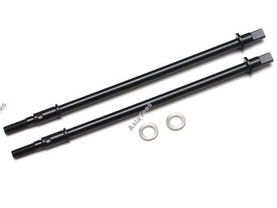 Boom Racing BADASS HD Steell Rear Drive Shafts for XRMOD PHAT™ Axle (2)