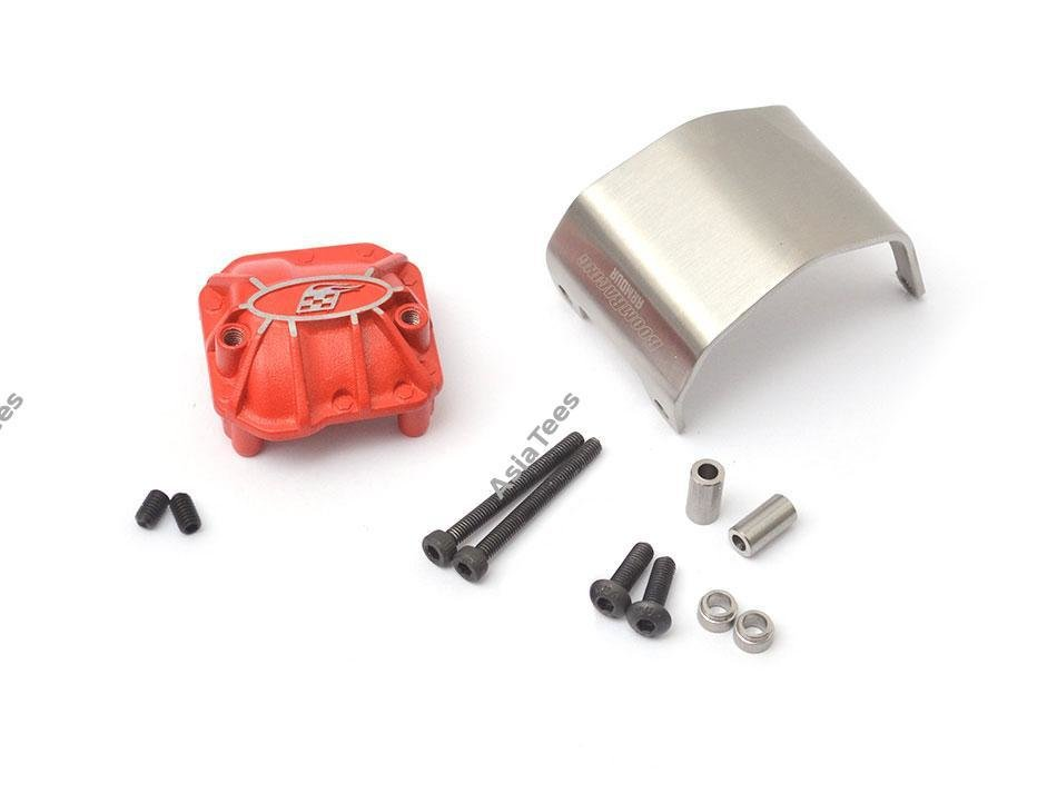 Boom Racing AR44 PHAT™ Axle Diff Cover W/ ARMOUR™ Skid Plate