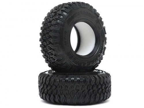 """Boom Racing 1.9"""" MAXGRAPPLER Scale RC Tire Gekko Compound 3.82""""x1.26"""" (97x32mm) Open Cell Foams (2)"""