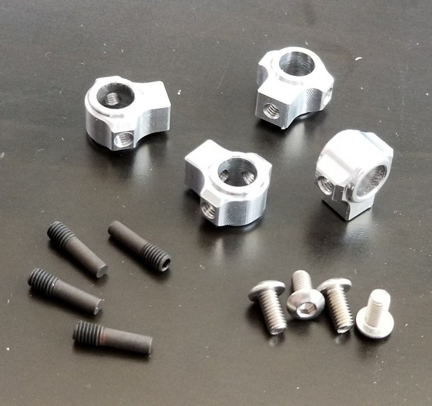 KNK Aluminum Body Mounts Natural Version 2