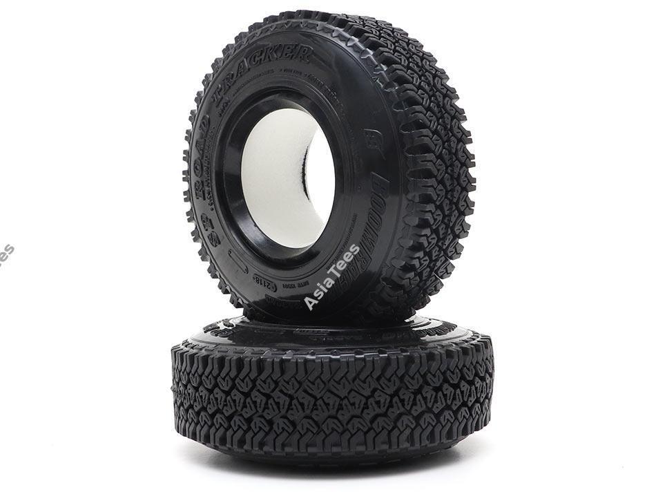 Boom Racing 1.55 SP Road Tracker Crawler Tire Gekko Compound 3.46x0.94 Inch (88x24mm) (2)