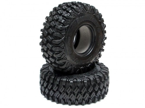 Boom Racing HUSTLER M/T Xtreme 1.9 MC2 Rock Crawling Tires 4.75x1.75 SNAIL SLIME™ Compound W/ 2-Stage Foams (Ultra Soft) 2pcs