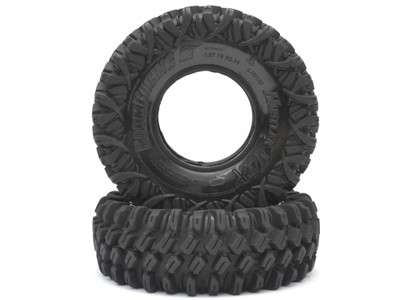 Boom Racing HUSTLER M/T Xtreme 1.9 Rock Crawling Tires 4.45x1.57 SNAIL SLIME™ Compound W/ 2-Stage Foams (Ultra Soft) 2pcs