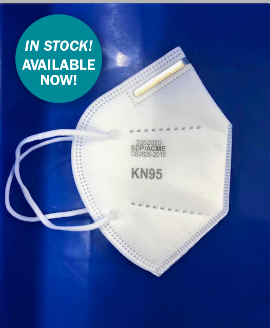 KN95 Respirators, Two Boxes of 25, - 50 respirators ($5.25 each)