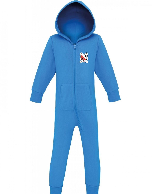 Darlington FC Onesie 'Blue' (Ordered On Request)