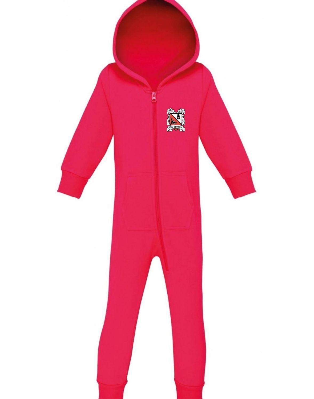Darlington FC Onesie 'Pink' (Ordered On Request)