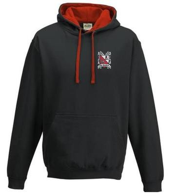 Hoody Junior Black/Red  (Ordered on Request)