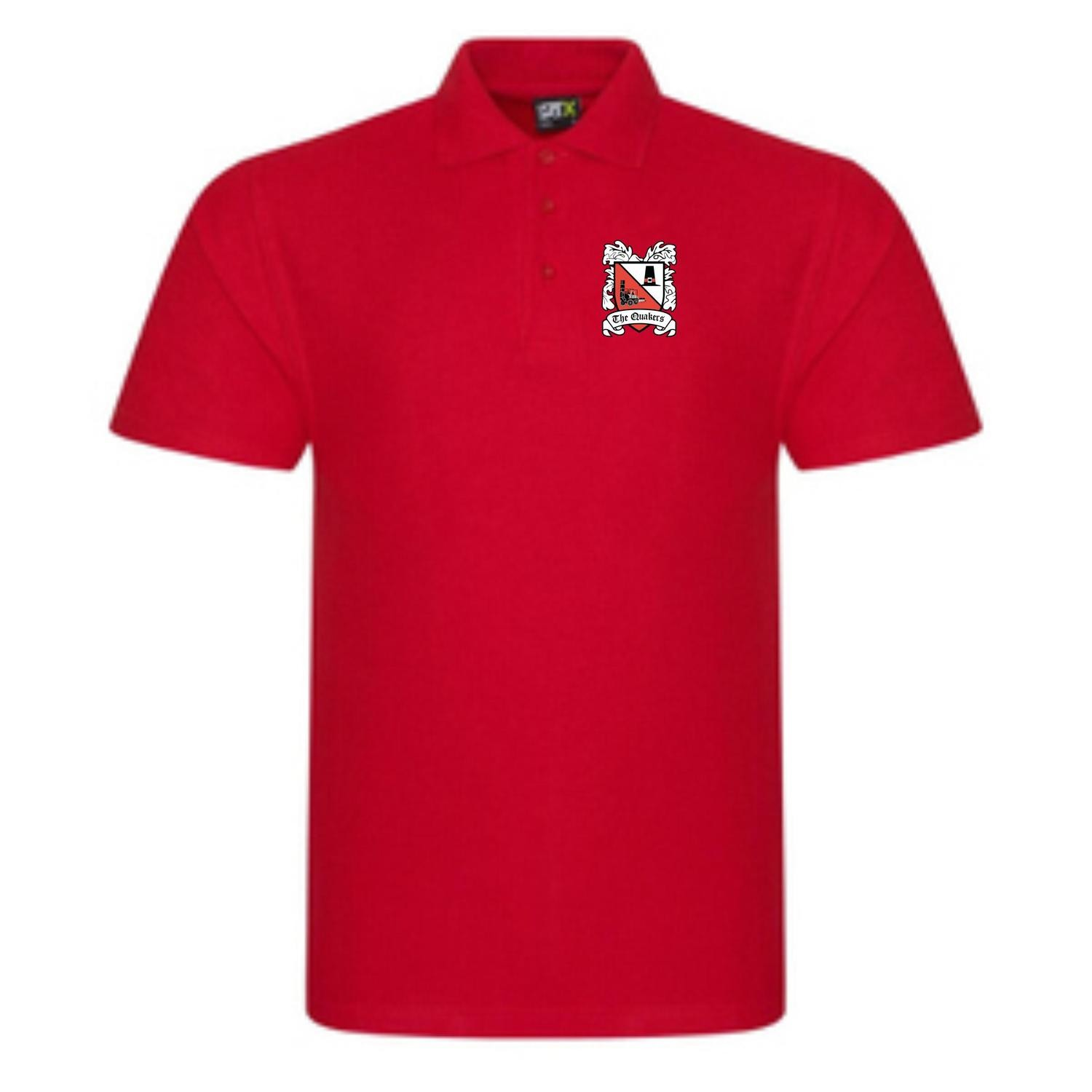 Polo Shirt Red (Ordered On Request)