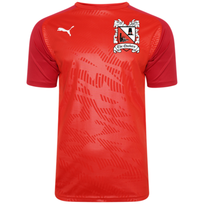 Puma Cup Core Red Training Jersey 19/20 (Ordered on Request)