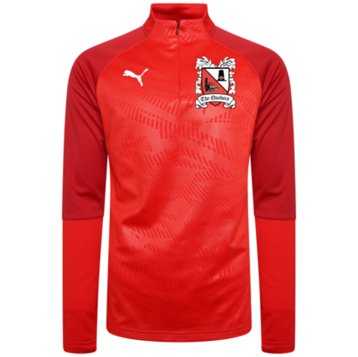 Puma Cup Core Red Quarter Zip Top 19/20 (Ordered on Request)