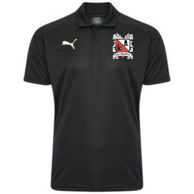 Puma Liga Sideline Black Polo Shirt 19/20 (Ordered on Request)