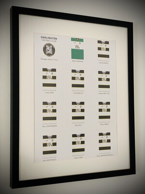 89/91 Champions Team Print (Framed)