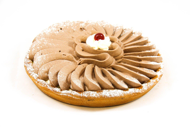 Chocomousse taart