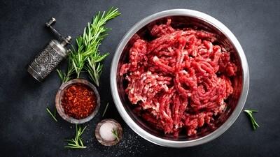 Viande haché de bœuf