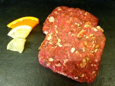Burger de Boeuf & porc - parmesan (environ 100gr.)