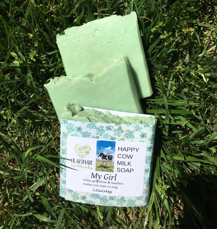My Girl Happy Cow Milk Soap
