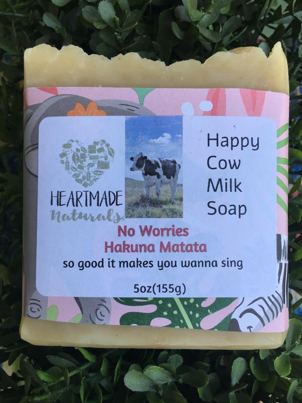 Happy Cow milkl soap, No Worries