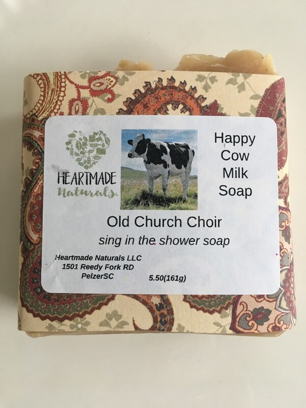 Happy Cow Milk Soap. Old church choir