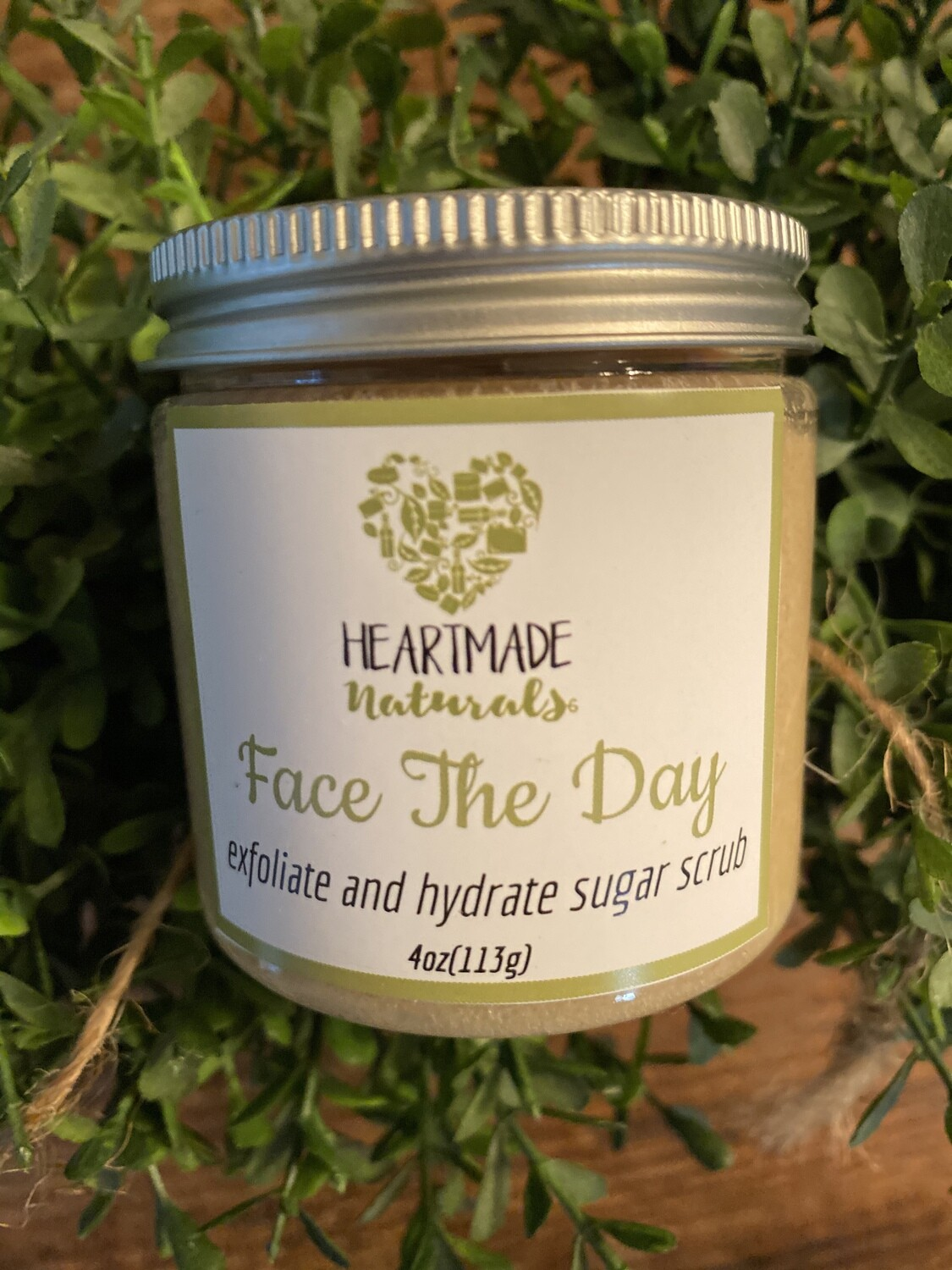 Face the day. Exfoliate