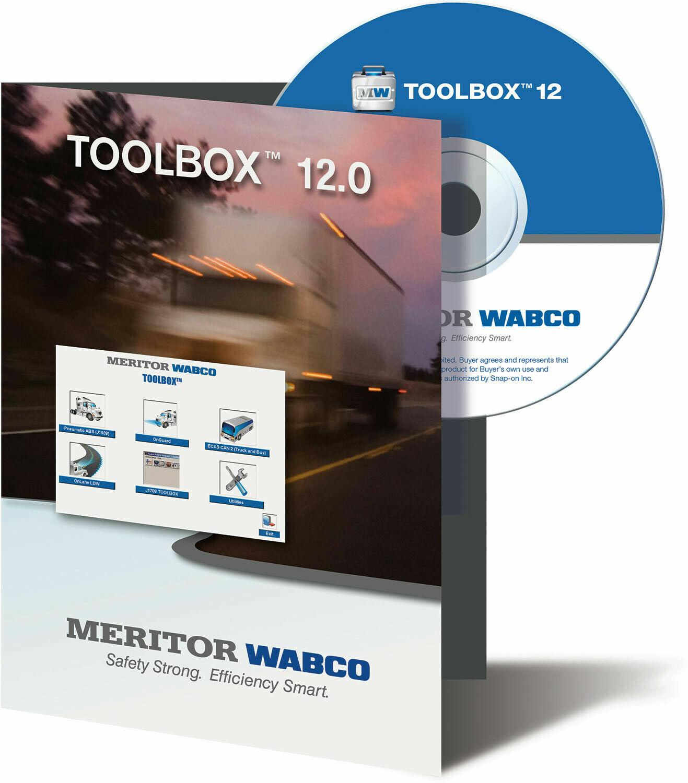 JPRO MERITOR WABCO TOOLBOX FOR ALL BRAKE APPLICATIONS JPRO-0026
