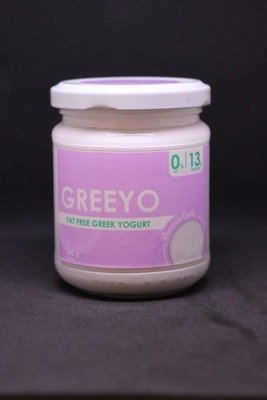 Fat-free Greek yogurt (140g) زبادي يوناني خالي الدسم