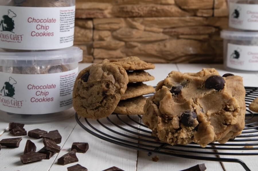Chocolate chip cookie dough عجينه الكوكيز بقطع الشوكولا