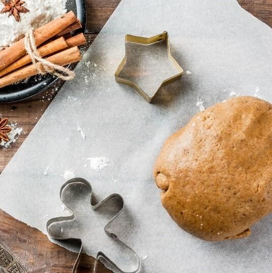 Ginger cookie dough عجينه الكوكيز بالجنزبيل