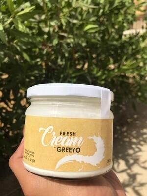 Fresh cream كريمه لباني