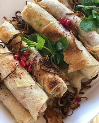 Chicken musakhan (5) مسخن