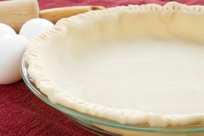 Open pie crust عجينة الفطيره المفتوحه