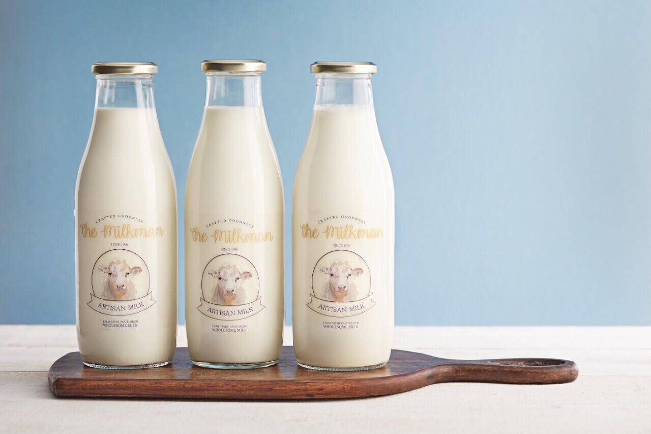 Fresh milk (1l) حليب طازج