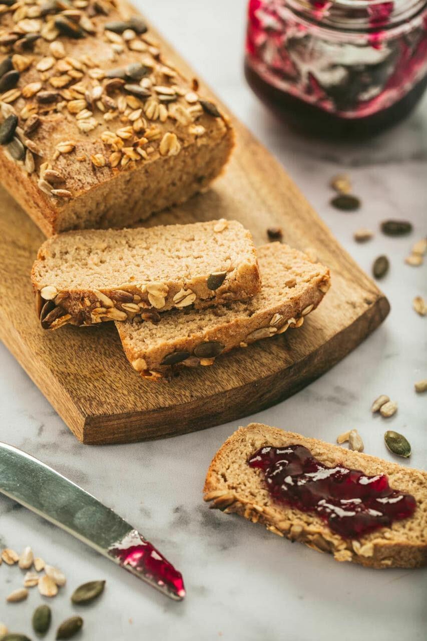 Gluten free multigrain loaf مالتي جرين لووف خالي من الجلوتين