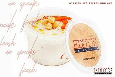 Roasted Red Pepper Hummus (500g) سلطه الحمص بالفلفل المشوي