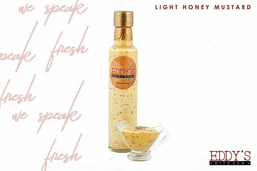 Light Honey Mustard (250ml) مسترده بالعسل
