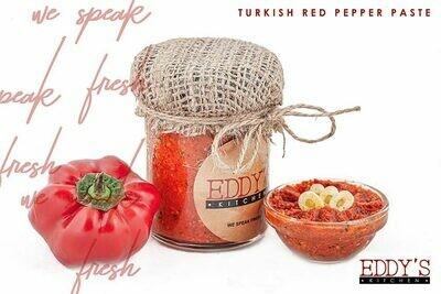 Turkish Roasted Red Pepper Paste (150g) معجون الفلفل الأحمر التركي المحمص