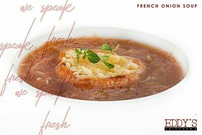 French Onion Soup (1L) شوربة البصل الفرنسية