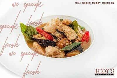 Thai Green Curry Chicken (1kg) كاري اخضر تايلندي بالفراخ