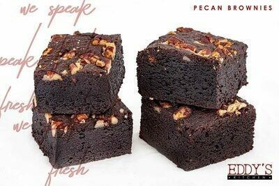 Pecan Brownies (4) براونيز بالبيكان