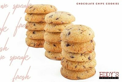 Chocolate Chip Cookies (2) كوكيز بالشوكليت شيبس