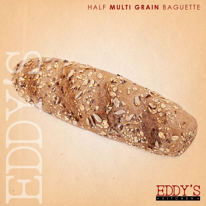 Multi-Grain Half Baguette (2) نصف باجيت بالحبوب