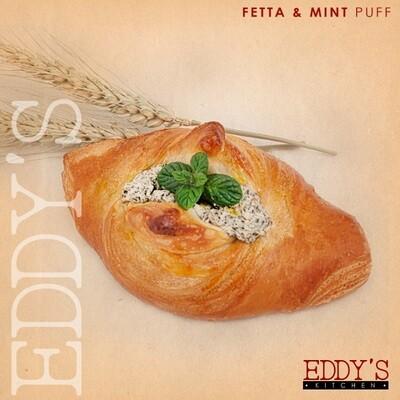 Feta & Mint Puff (2) باف بالجبنة والنعناع