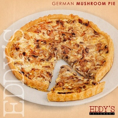 German Mushroom Pie (900g) فطيرة المشروم الالمانية
