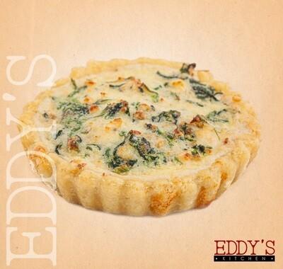 Spinach & Cheese Quiche (140g) كيش بالجبنة والسبانخ