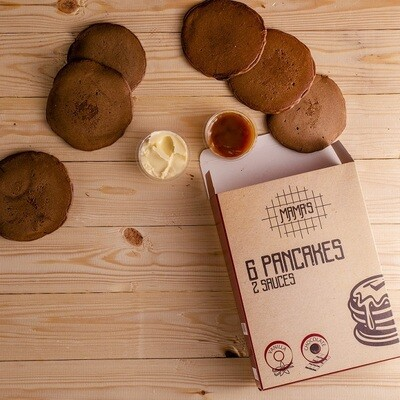 Chocolate Pancakes بان كيك شوكولاته