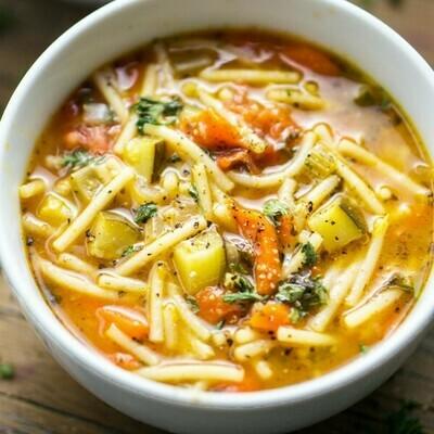 Minestrone Soup (350ml) شوربة منستروني