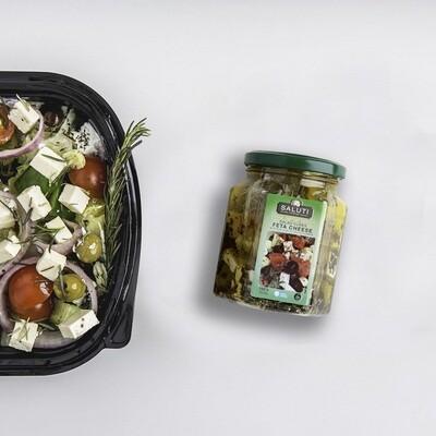 Rosemary Feta Salad Cubes (100g) مكعبات جبن فيتا بالروزماري