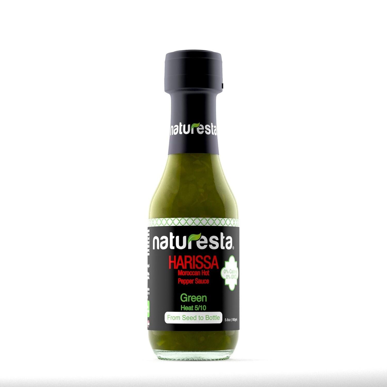 Moroccan Green Harissa Sauce صوص الهريسة بالفلفل الاخضر